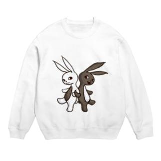腹黒ウサギと腹白ウサギ Sweats