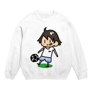 サッカー少年 Sweats