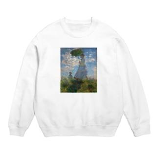 クロード・モネ / 1875 / The Promenade, Woman with a Parasol / Claude Monet Sweat