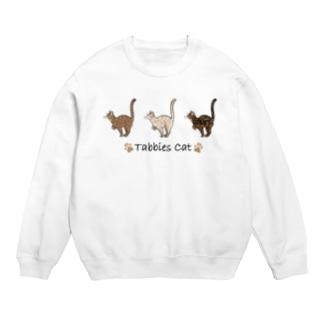 豆つぶのTabbies Cat(ロゼット/ベンガル) Sweat