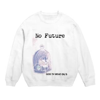 No  Future-スカル×鳥かご Sweats