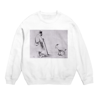 ゴッホ / 1862 /The Goat Herd / Vincent van Gogh Sweats