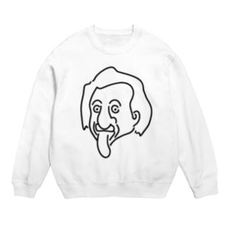 アインシュタイン Einstein イラスト 理論物理学 哲学者 偉人アート Sweats