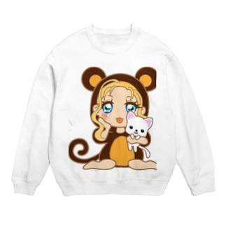 お猿さん(*^^*)可愛い Sweats