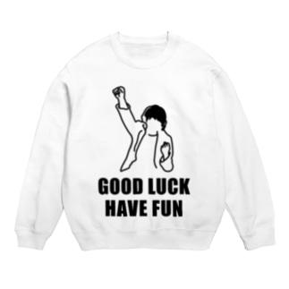 Good Luck Have Fun(イラスト) Sweats