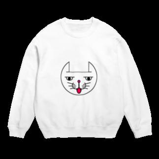 ヒロさんのグッズのネコだお(口開け)(カラー) Sweats