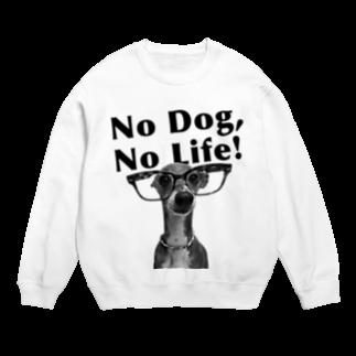 イロハのNo dog,No life! 黒 Sweats