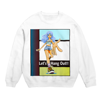 nidan-illustrationのLet's Hang Out!! Sweats