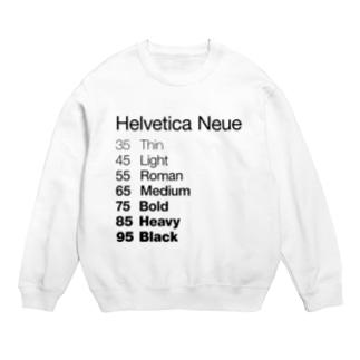 Helvetica Neue Sweats