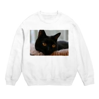 黒猫ヴィヴィの日向ぼっこ Sweats