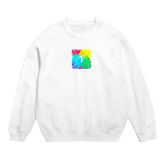 虹色とワン Sweats