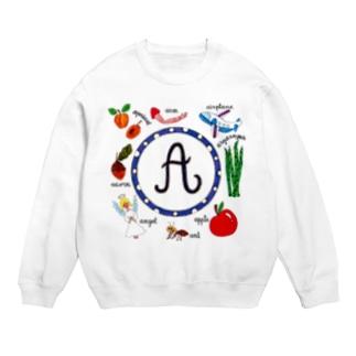 """アルファベット """"A"""" Sweats"""