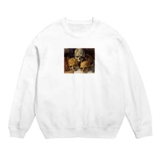 ポール・セザンヌ / 積み重ねた骸骨 / 1900 /Pyramid of skulls / Paul Cezanne Sweats