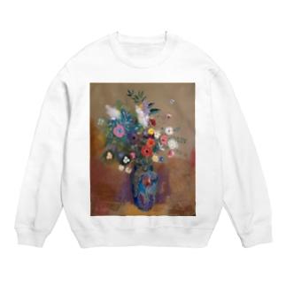 ルドン「青い花瓶の花束」 Sweats