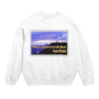 ギリシャ:スニオン岬のポセイドーン神殿★白地の製品だけご利用ください!! Greece:Temple of Poseidon at Cape Sounion★Recommend for white base products only !! Sweats