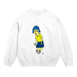 Takuro KatoのBlue Hair Girl Sweats