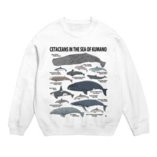 南紀のイルカ・クジラ(淡色下地用) Sweats