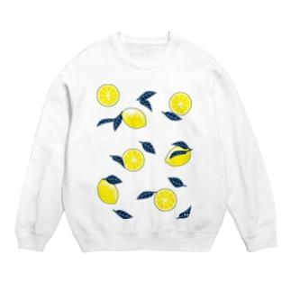 LINOS-Tのレモン Sweats
