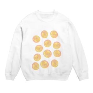 水草のオレンジ玉いっぱい Sweats