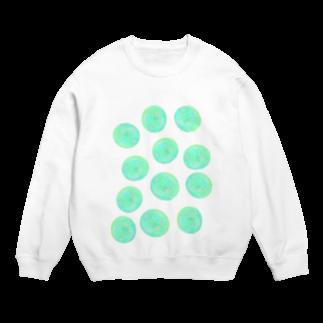 水草のグリーン玉いっぱい Sweats