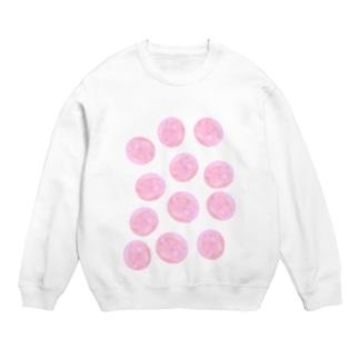 水草のピンク玉いっぱい Sweats