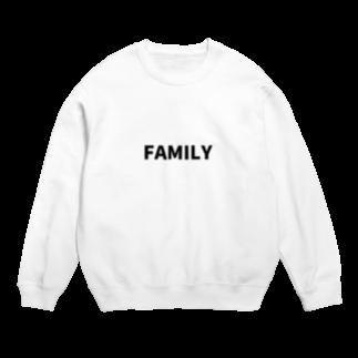 FAMILY SHOPのFAMILY(黒文字) Sweats