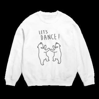 Aliviostaのレッツダンス クマ 熊 動物イラスト Sweats