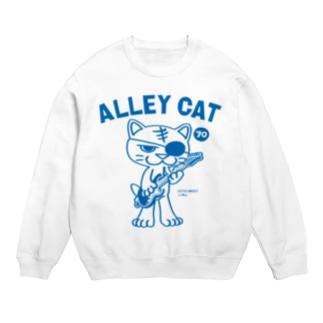 ALLEY CAT 〜ドラ猫モータース ギター/ナックル〜 Sweats
