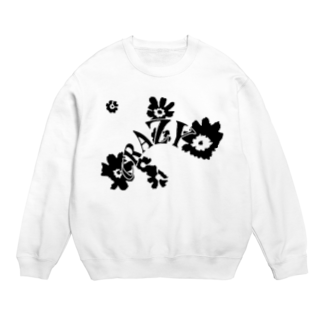 qethapethapのCRAZY FLOWER Sweats