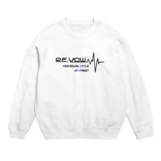 Re.Vowロゴデザイントレーナー Sweats