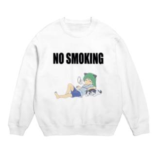 NO SMOKING せいらさんと犬丸 Sweats