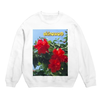 沖縄のハイビスカス♪ Sweats
