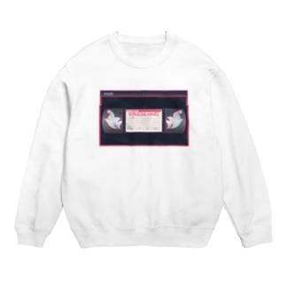 VHS風レンタルビデオ屋「ウイングレスエンジェル」のポイントカードデザイン Sweats