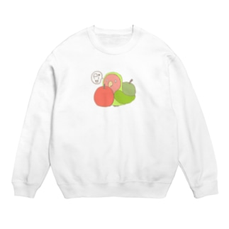 コザクラインコとりんご Sweats