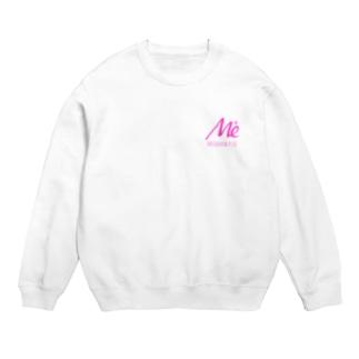 keita屋のMESARION+ロゴ 文字切り抜きVer(ピンク) Sweats