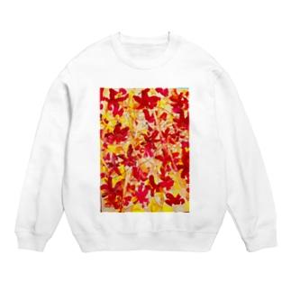 グラデーションが綺麗な秋の紅葉🍁オータムリーブス🎶 Sweats