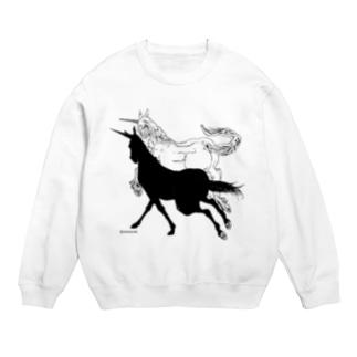 Monochrome Unicorn Sweats