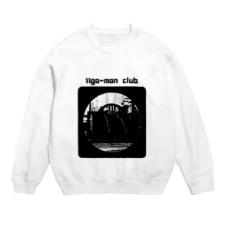 11go-mon club 黒 Sweats