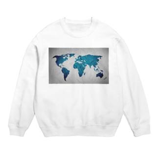 氷と水の世界地図 Sweats