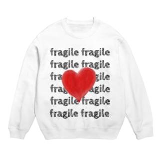 fragileハートシリーズ Sweats