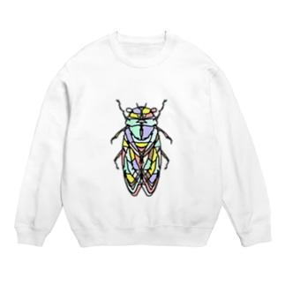 cicada ☆(せみ)collarバージョン Full of vitality (フル オブ バイタリティ) Sweats