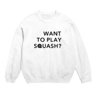 WANT TO PLAY SQUASH? Sweats