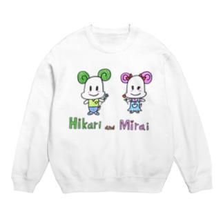 Hikari and Mirai Sweats