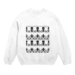 黒兎-クロウサギ-(WHITE) Sweats
