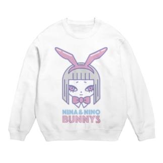 Bunny girl Nina フェイス スウェット