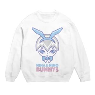 Bunny boy Nino フェイス スウェット