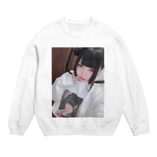 るあちゃんのsuzuriスェットを着る私 Sweats