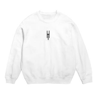Tsubara Hayashi Official Logo 【White】 Sweats