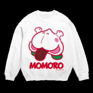 よシまるシンのMOMORO(WHITE) Sweats