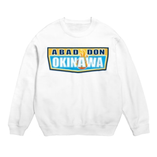 ABADDON OKINAWA BLUE LOGO Sweats